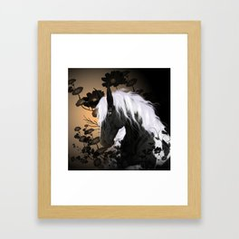 Wonderful horse Framed Art Print