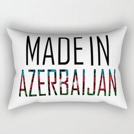 Made In Azerbaijan Rectangular Pillow
