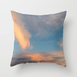 Wyoming Sky Throw Pillow