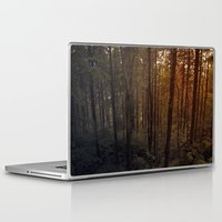 poland Laptop & iPad Skins featuring Forest in Poland by vikfdz