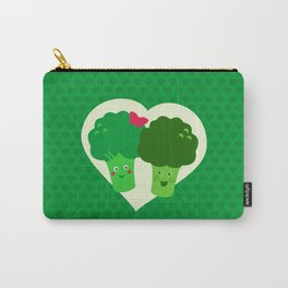Broccoli in love Carry-All Pouch