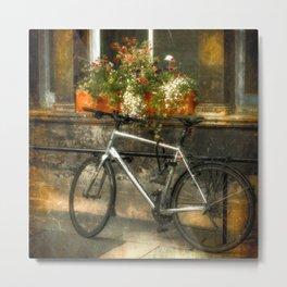 An Edinburgh Bicycle (2) Metal Print