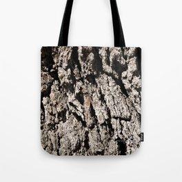 TEXTURES: Englemann Oak Bark Tote Bag