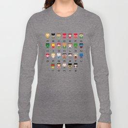 Superhero Alphabet Long Sleeve T-shirt