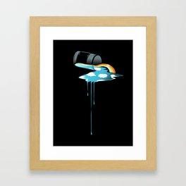 Sky in a Jar Framed Art Print