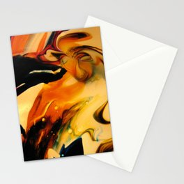 residual vortex Stationery Cards