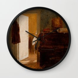Aleksander Gierymski - Studio in Munich Wall Clock