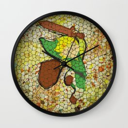 """It's Never Too Dangerous... (Homage To Link from """"The Legend Of Zelda"""") Wall Clock"""