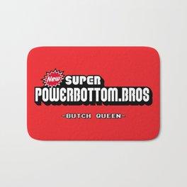 BQ - Super Power Bottom Bros Bath Mat