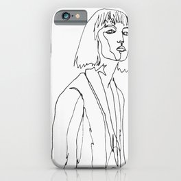minimal drawing  iPhone Case