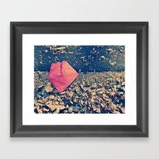 Red Letter Day Framed Art Print