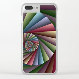 math is beautiful -91- Clear iPhone Case