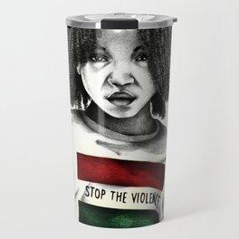 Stop the Violence Travel Mug