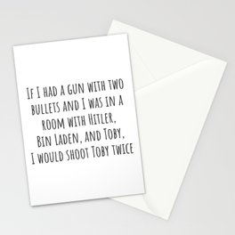 Two Bullets Stationery Cards