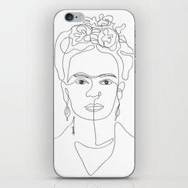 Doña Frida Kahlo iPhone Skin