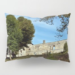 Abbey in South West of France Pillow Sham