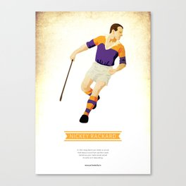Nickey Rackard, Wexford Hurling Canvas Print