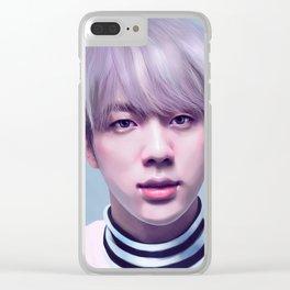 JIN BTS Clear iPhone Case
