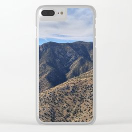 Mountain Beauty Part 3 Clear iPhone Case