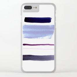 minimalism 9 Clear iPhone Case