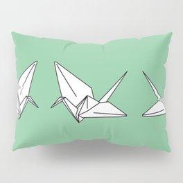Paper Crane Motif, 2013. Pillow Sham