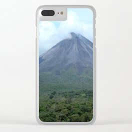volcano Clear iPhone Case