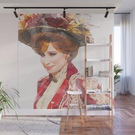 Hello, Dolly! - Barbra Streisand - Watercolor Wall Mural