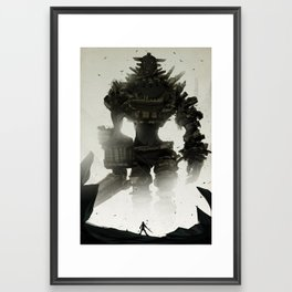 Looming Framed Art Print