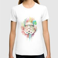 stormtrooper T-shirts featuring Stormtrooper by Veronika Weroni Vajdová