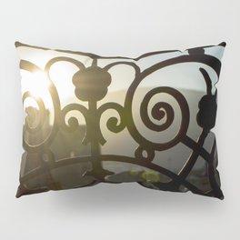 Balcony Sunset Pillow Sham