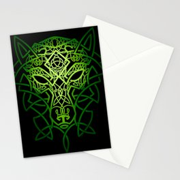 Celtic Wolf Stationery Cards