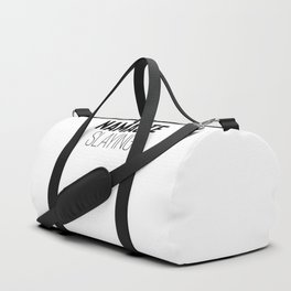 Namaste Slaying Duffle Bag