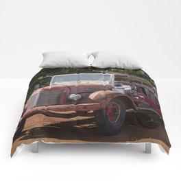 Antique Fire Truck Comforters