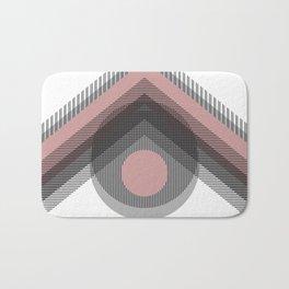 Mod Deco Pink Bath Mat