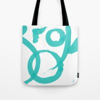 brooklyn Tote Bags featuring Brooklyn by Pamalope