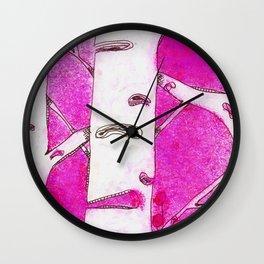 Pinktree Wall Clock