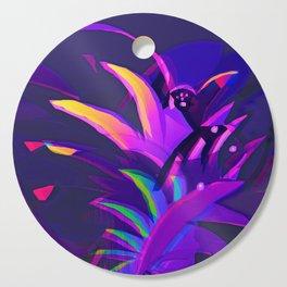 Tropical Sounds under Moon Light Cutting Board