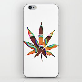 Cannabis Rainbow Design (95) iPhone Skin