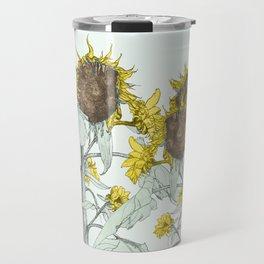 The sunflower brigade Travel Mug
