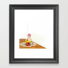 Things That Go Framed Art Print