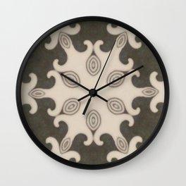 Mocca Naive Mandala Wall Clock