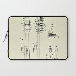 Toothbrush-1953 Laptop Sleeve