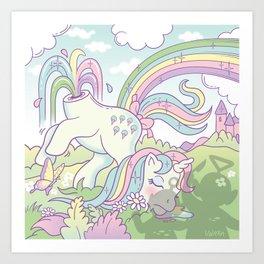 My little pony Art Print