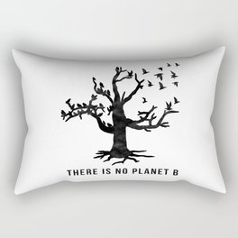 There Is No Planet B Save Earth Day Nature Gift Rectangular Pillow