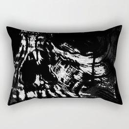 Toxic White Rectangular Pillow