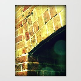 I dare you to go in there! Canvas Print