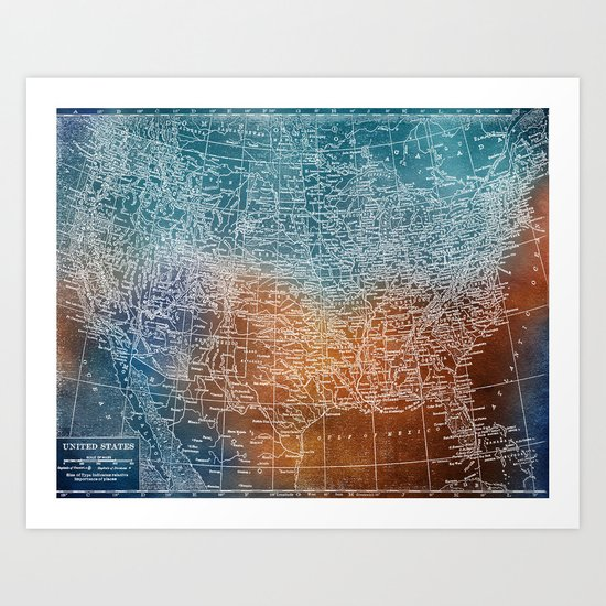Born on the 4th of July Art Print