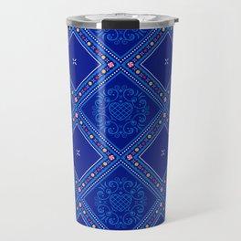 Sweet Winter Blues Travel Mug