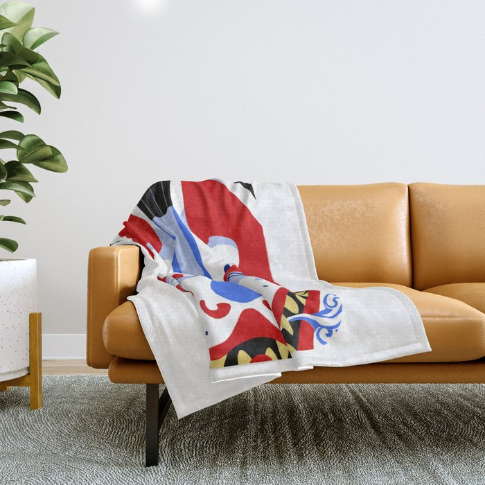 Inari Fox Throw Blanket