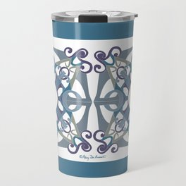 Support Love Mandala x 2 - Cool Travel Mug